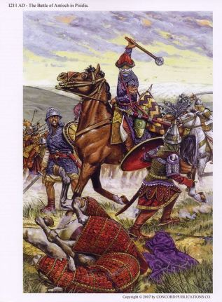 Battle of Antioch on the Meander, 1211, defeat of the Seljuks to Nicaea