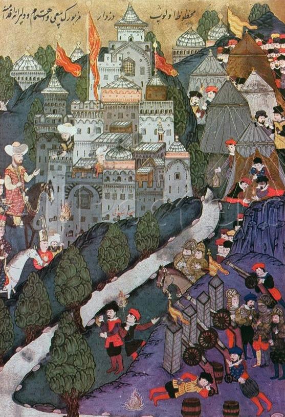 Nicopolis, 1396- victory for the Ottomans, 1396