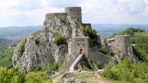 Medieval castle in Bosnia