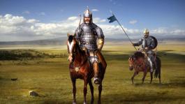 Khazar horsemen