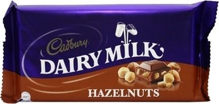 Cadbury hazelnuts from Trebizond