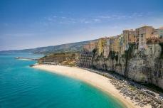 Cliffs and beaches of Calabria