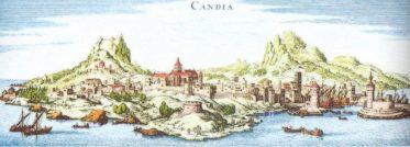 Medieval Chandax (Candia), Crete