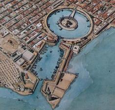 Byzantine Carthage, lost to the Arabs in 698