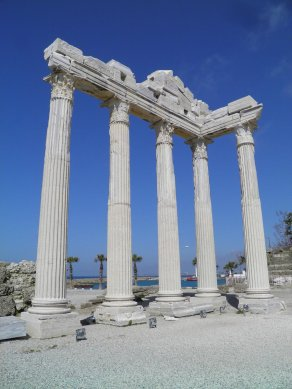 Ruins of Seleucia in Pamphylia
