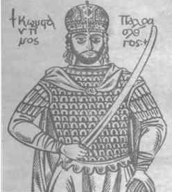 The warrior despot and emperor, Constantine XI Palaiologos