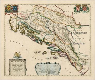 Serbia and the Balkans according to DAI