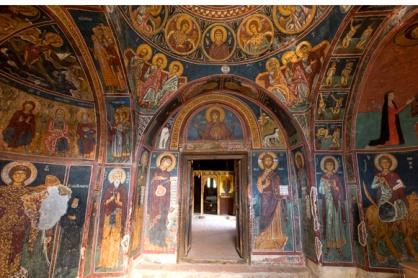Byzantine church art in Cyprus