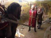 Baldwin I captured at the Battle of Adrianopolis, 1205