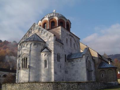 Serbian church architecture (1196), based on Byzantine architecture