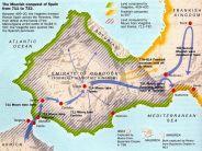Moorish Conquests of Spain (711-732)