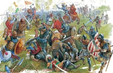 Battle of Rovine in 1395, Serbs and Ottomans against Walachia