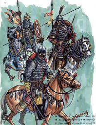 Original Bulgarian warriors