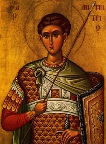 Icon of St. Demetrios