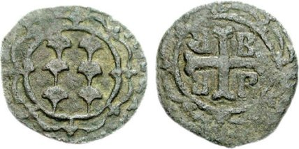 Coin of Francesco II, Lord of Lesbos (1384-1404)