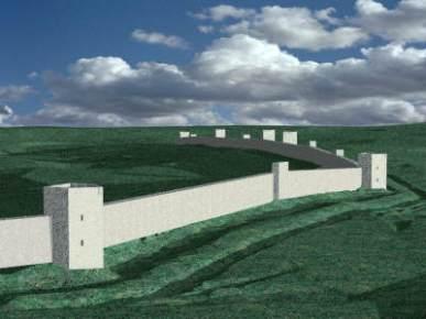 "Anastasian Wall ""Great Wall of Thrace"", built between"