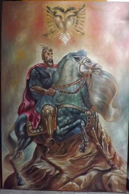 Skanderbeg (Gjergj Kastrioti), ruler of Albania (1443-1468)