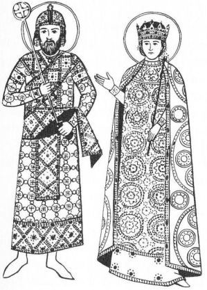 2nd Empire Bulgarian royal fashion