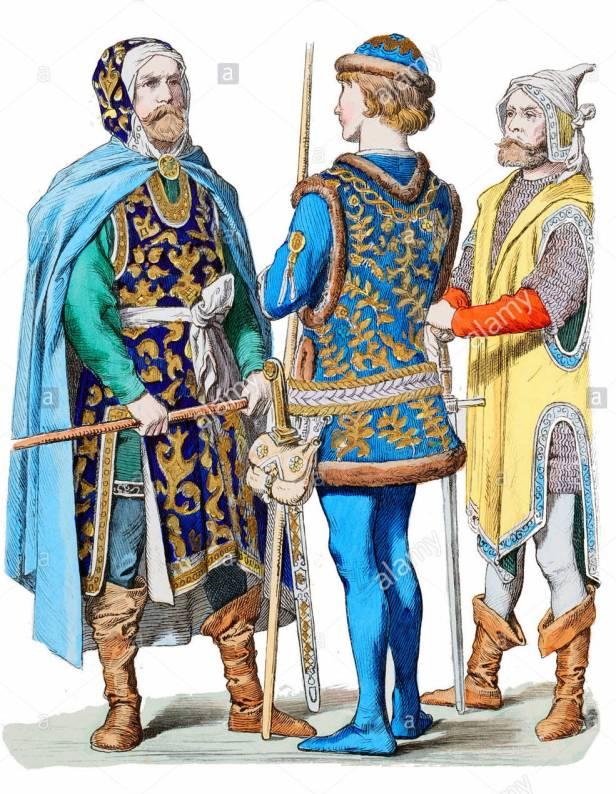 Venetian nobility fashion