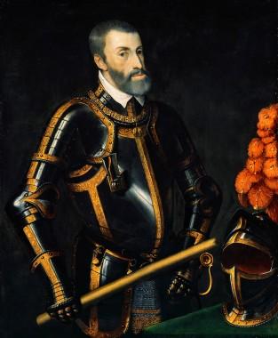 Charles V, Holy Roman Emperor (1519-1556), occupied Montferrat (1533-1536)