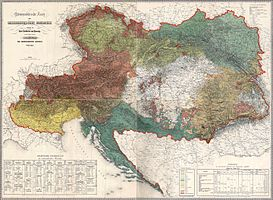 1797, Venice absorbed into Austria-Hungary