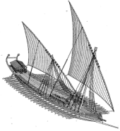 Byzantine Dromon (warship)