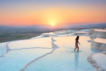 Hot springs at Hierapolis