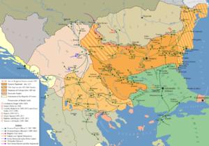 1396- Ottoman invasion of Bulgaria