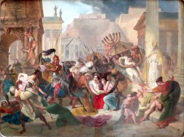 Geiseric and Vandals sack Rome, 455