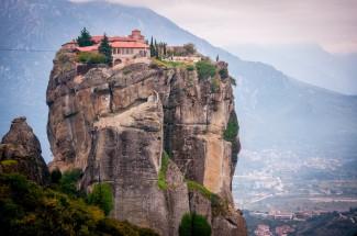 Monastery in Meteora, built under the Despotate of Epirus