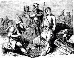 Visigoth warriors