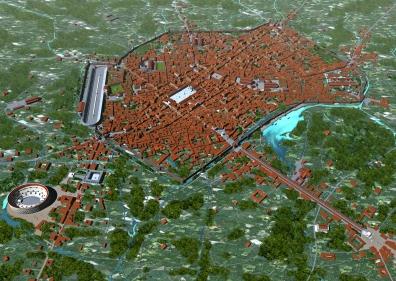 Mediolanum (Milan), capital of Maximian