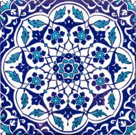 Iznik ceramic tile