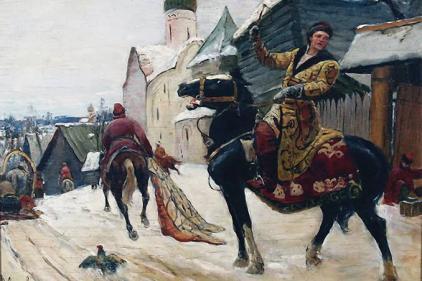 Oprichnik units of Ivan