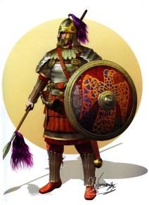 Elite Byzantine Tagmata soldier