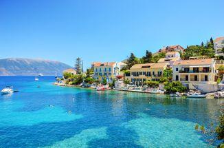 Cephalonia, Greece, capital of the Cephallenia Theme