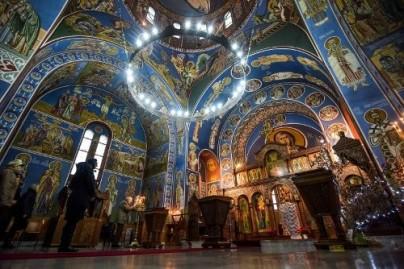 Serbian church interiors