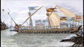 Medieval Venetian ship