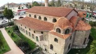 Remains of the Hagia Sophia in Nicaea