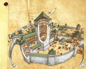 Medieval Belgrade diagram