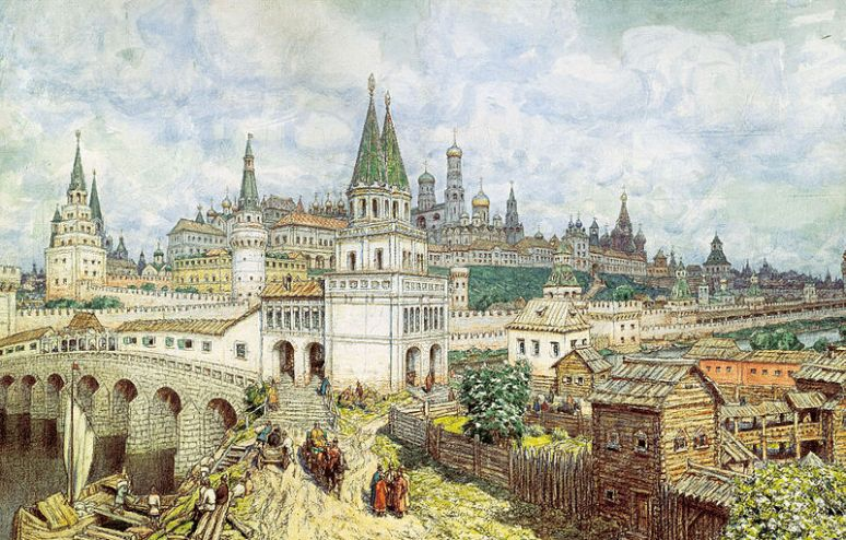 Medieval-Moscow