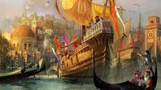 Venetian merchant ships