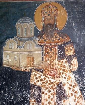 Stefan II Milutin, King of Serbia (1282-1321)