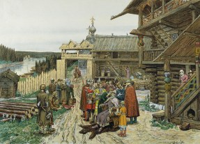 Foundation of Moscow, 13th century