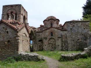 Byzantine churches of Mystras