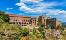 Mystras, capital of the Despotate of Morea, surrendered to Mehmed II in 1460