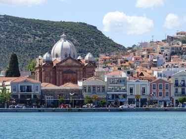 Mytilene, Lesbos- once the capital of the Aegean Theme