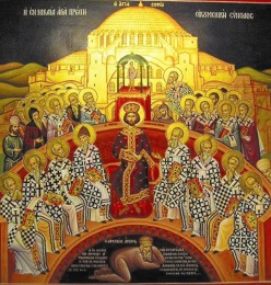 The First Council of Nicaea, 325