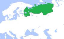 Territorial extent of Novgorod