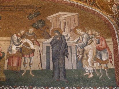 Byzantine mosaic art from the Palaiologan Renaissance in Chora